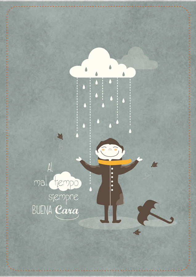 Al mal tiempo
