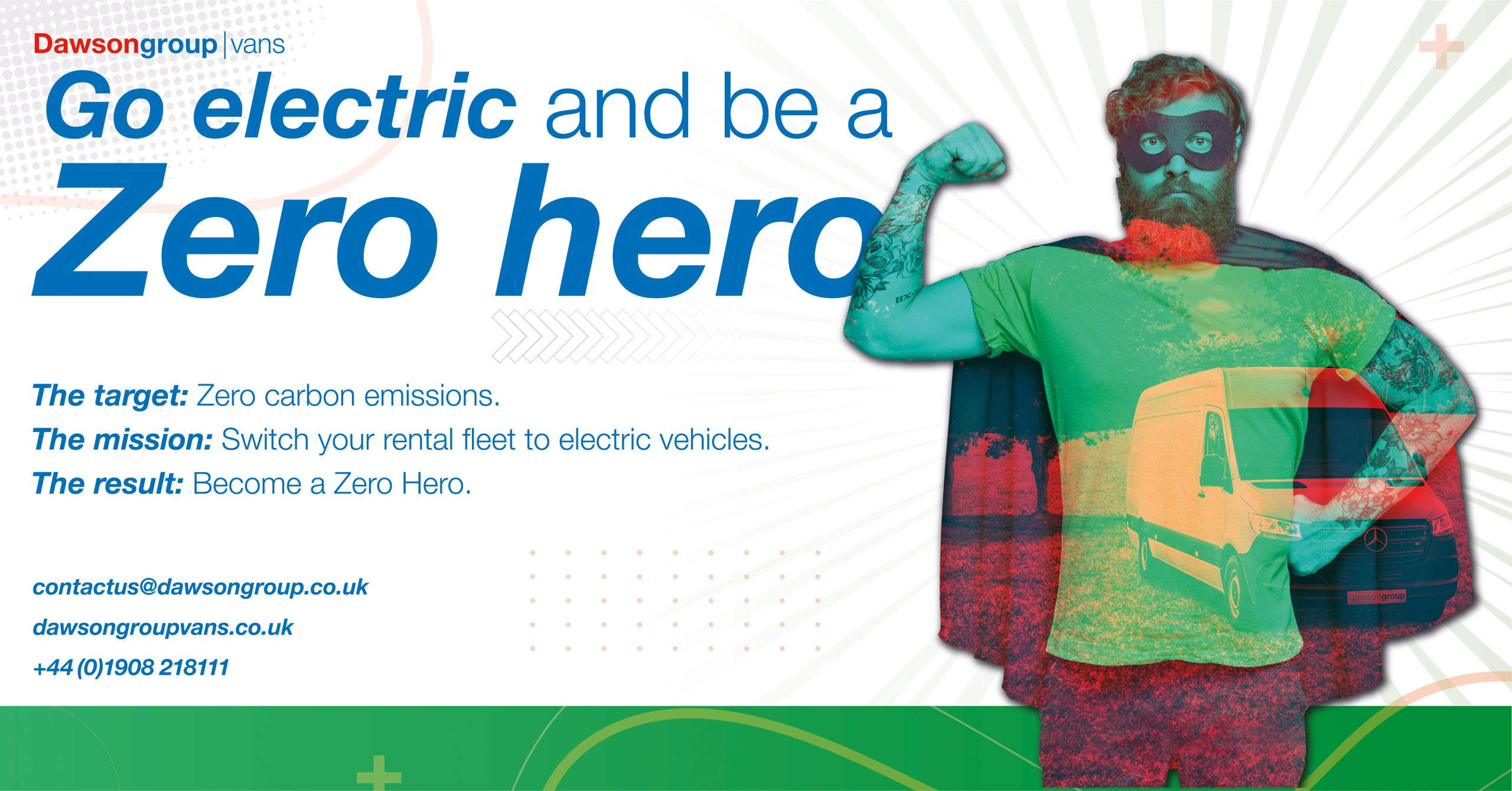 Go electric and be a zero hero