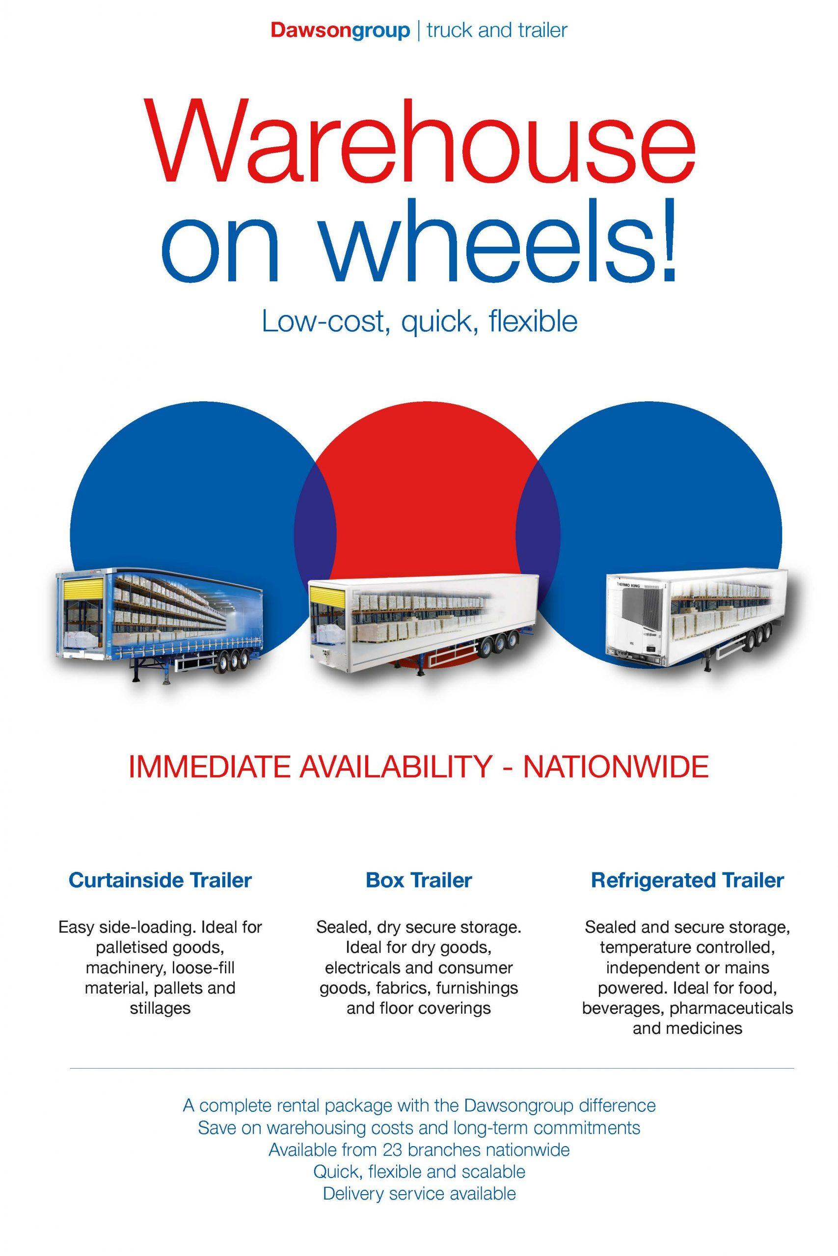 Warehouse on wheels!